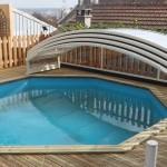 Abri de piscine bas hors sol Génie