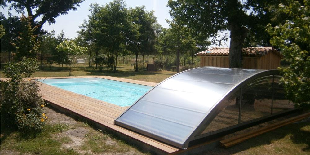 Abri bas de piscine Magic 5