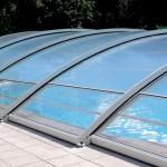 Abri bas de piscine transparent Magic