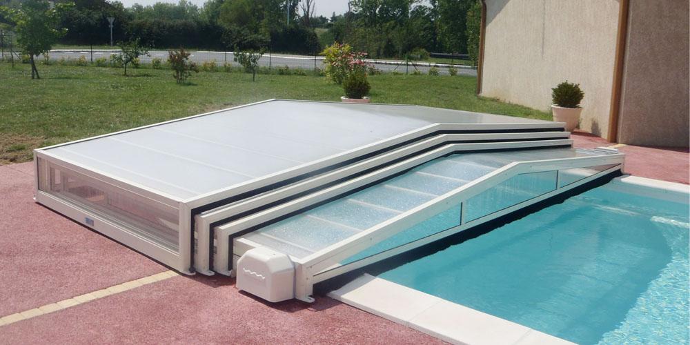 Abris plat de piscine