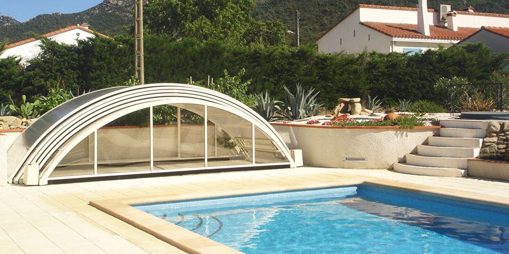 Abri de piscine motorisé